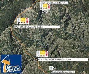 kilometro vertical Roquetes